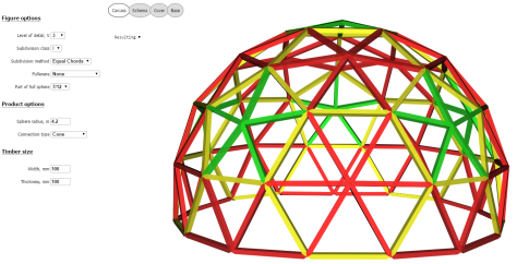 2014-12-13 10_53_57-7_12 Cone 3V R4.2 beams 100x100 - Geodesic dome calculator - Acidome.ru